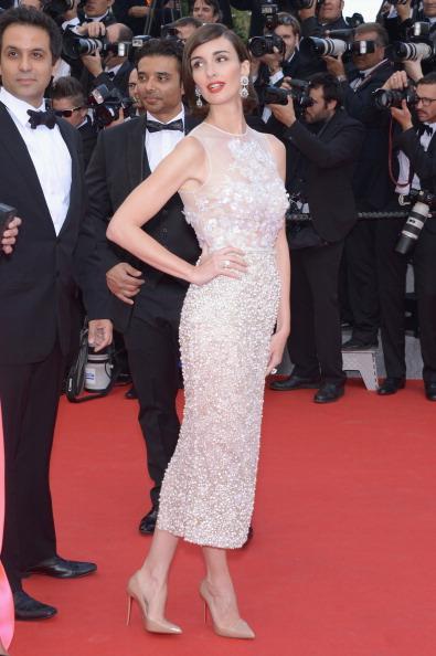 6. Paz vega <br/>Nữ diễn viên gốc Tây Ban Nha với vẻ đẹp mặn mà luôn nổi bật trên thảm đỏ với những bộ trang phục gợi cảm của Elie Saab.