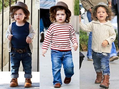 9. Skyler Berman <br/>Con trai của stylist/nhà thiết kế hàng đầu Hollywood: Rachel Zoe.