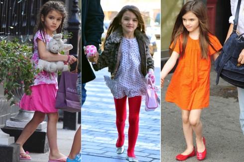 10. Suri Cruise<br/>Con gái của cặp diễn viên tài sắc vẹn toàn: Tom Cruise và Katie Holmes.