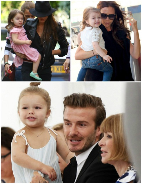 11. Harper Beckham<br/>Con gái thứ 4 của vợ chồng nhà Victoria và David Beckham