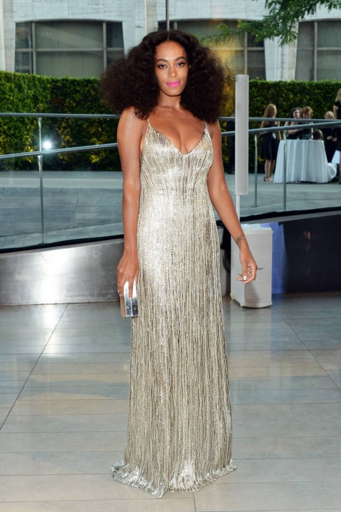 Solange Knowles trong thiết kế Calvin Klein