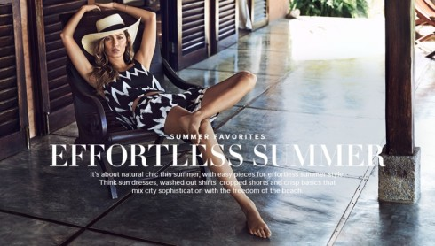 Gisele Bundchen for H&M