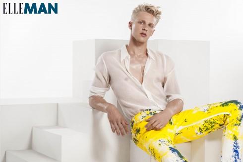 Quần jeans Versace, Áo sơ mi Dries Van Noten