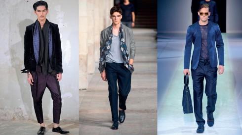 Từ trái qua: Haider Ackerman, Hermès, Emporio Armani