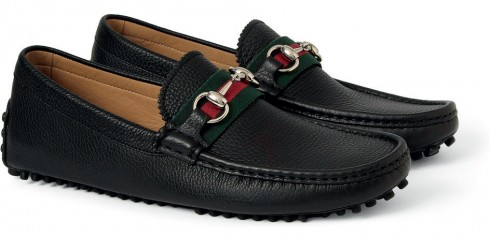 Giày loafer Gucci