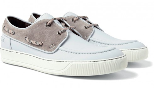Giày deck shoes Lanvin