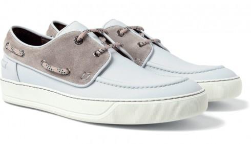 Giày deck shoes Lanvin