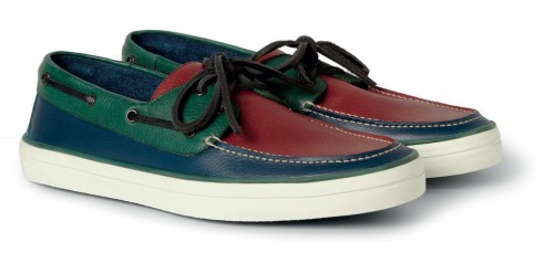 Giày deck shoes Burberry