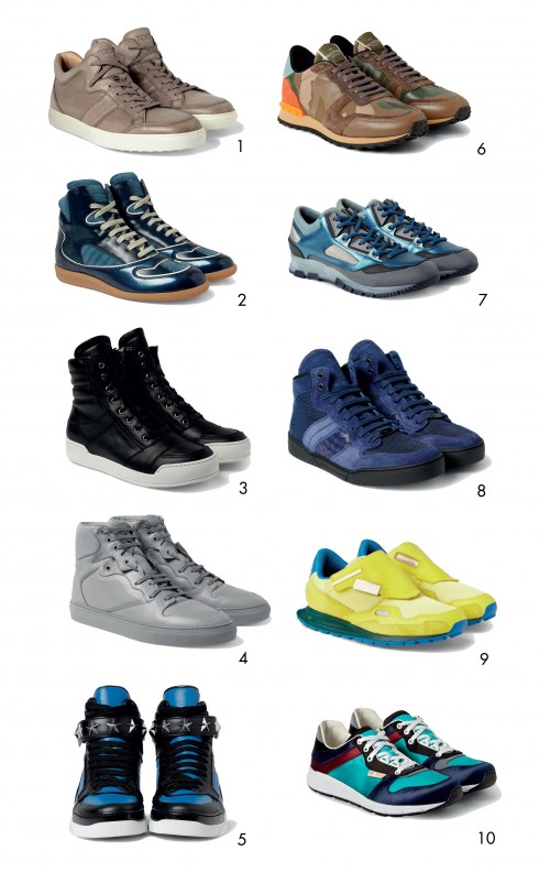 ellevn sneaker 490x792 - 4 cách phối đồ với giày thể thao
