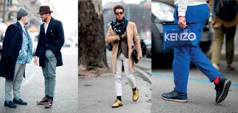 Cách chọn màu vớ, xác định chiều dài gấu quần để kết hợp với đôi giày bạn mang cũng là cách để thể hiện cá tính thời trang và đẳng cấp của gu thẩm mỹ