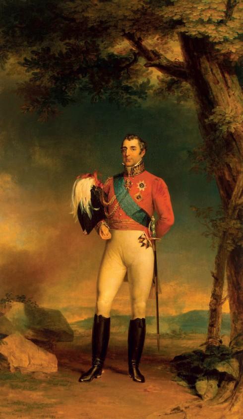 Công tước Wellington với kiểu bốt cao được các thợ giày nổi tiếng ở London thiết kế và đóng riêng.