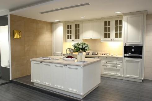 Khu trưng bày tủ bếp Kohler và thiết bị bếp Miele