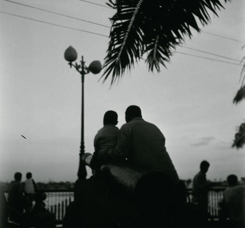 """Nguyễn Uyên Minh: Trích trong bộ ảnh """"Những câu chuyện Sài Gòn"""" (hình kỹ thuật số)"""
