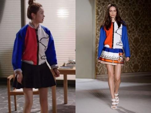 Áo họa tiết hoạt hình của thương hiệu Fay được giới thiệu tại Tuần lễ thời trang Milan.