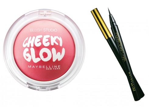 Bộ Kẻ mắt nước MAYBELLINE Hypersharp 0.5g và Phấn Má Hồng Cheeky Glow Blush 7g. Giá:  242.000 VNĐ
