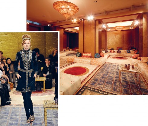 BST Prefall 2011: Paris - Byzance kể câu chuyện của nữ hoàng Theodora của thành phố cổ đại Byzantium, nay là Istabul.