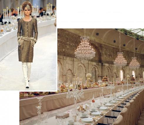 BST Prefall 2012: Paris - Bombay đưa quan khách chìm vào thế giới xa hoa của giới quý tộc Ấn Độ.