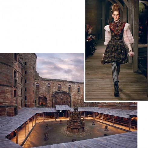 BST Prefall 2013: Paris - Edinburg là chuyến đi đầy thơ mộng và lãng mạn đến lâu đài cổ ở Scotland.