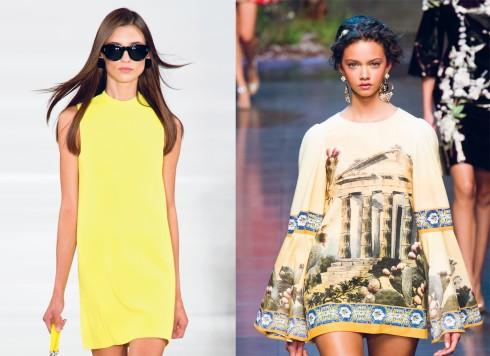 Từ trái qua: Ralph Lauren, Dolce & Gabbana