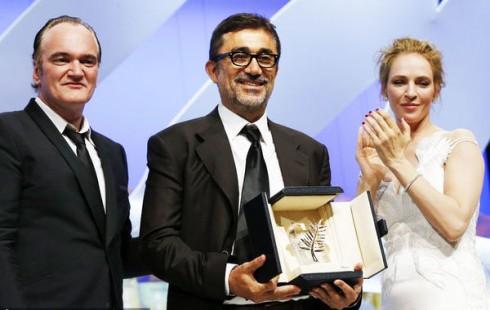 Đạo diễn Nuri Bilge Ceylan nhận giải Cành cọ vàng cho bộ phim Winter Sleep