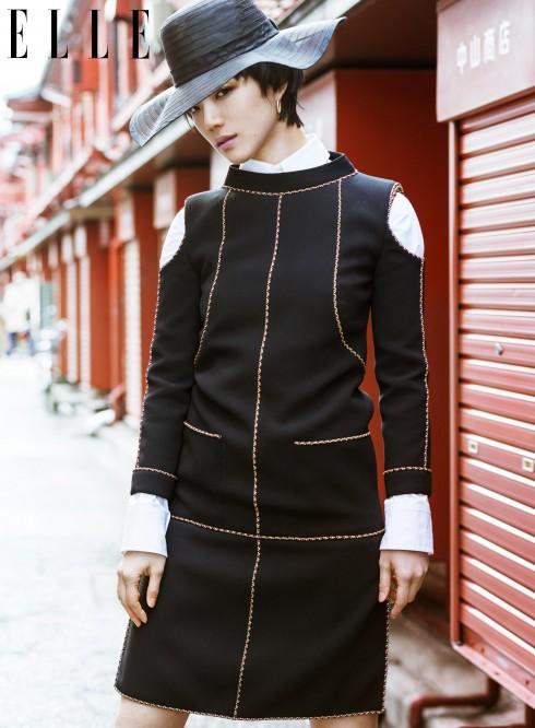 Đầm Chanel, Áo sơmi Yohji Yamamoto