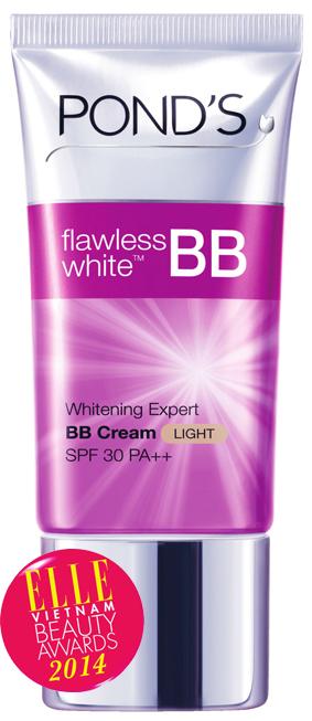 <strong> 10. POND'S Flawless White BB Cream </strong><br/>BB Cream Pond's – Kem dưỡng trắng tạo nền với SPF 30 PA++, không chỉ tạo 1 lớp nền mỏng nhẹ nhàng mà còn có tác dụng dưỡng trắng da từ sâu bên trong.