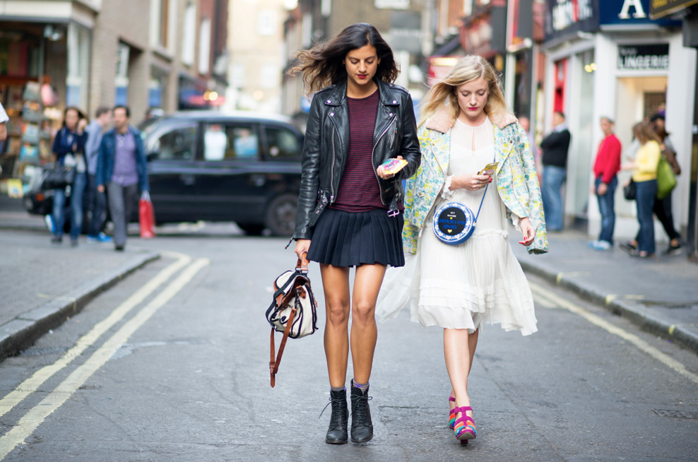 London Fashion Week Street Style 9 Elle Vi T Nam
