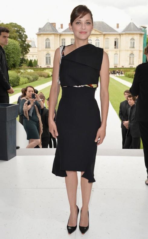 Marion Cotillard trong buổi giới thiệu BST Dior.