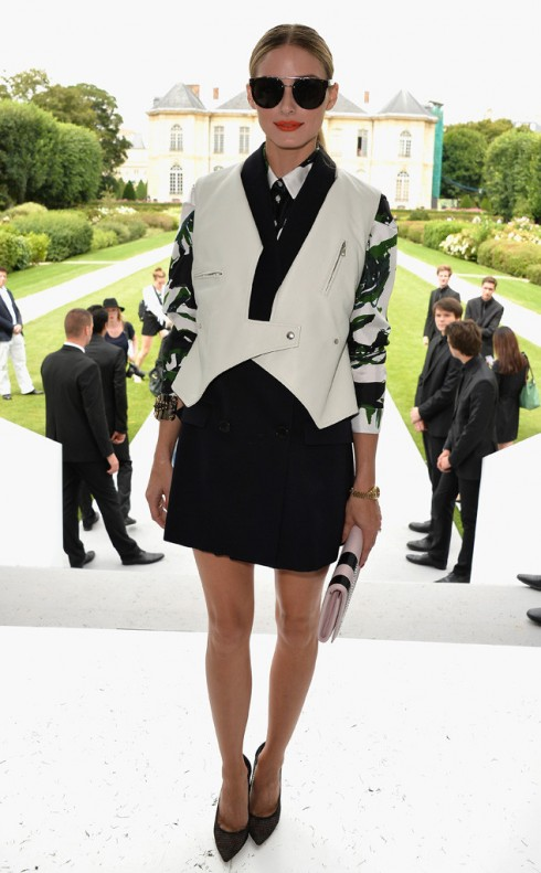 Olivia Palermo trong buổi giới thiệu BST Dior.
