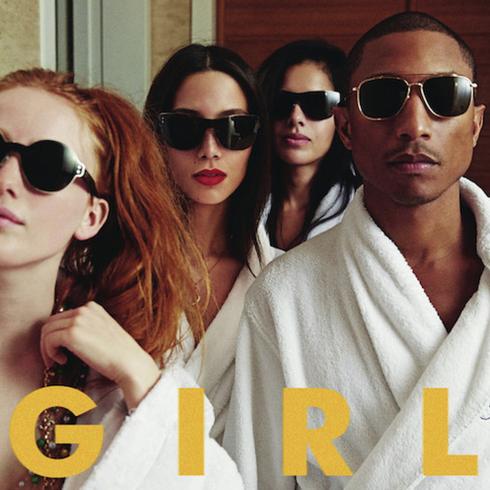 Girl của Pharrell Williams xếp thứ 6.