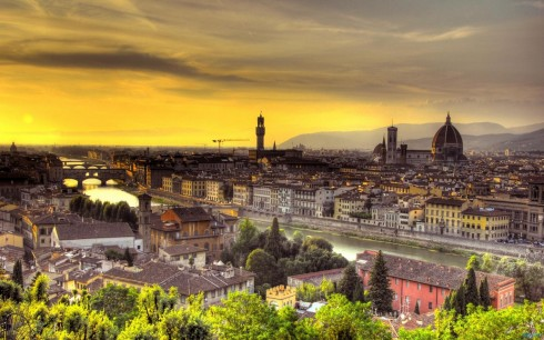 sunset_over_florence_italy