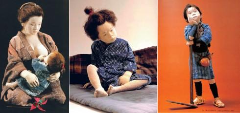 Yuki Atae khắc họa các cảm xúc trên búp bê của mình qua cách ông vẽ đôi mắt, tư thế và gương mặt. Ông nhấn mạnh vào những khoảnh khắc đời thường, miêu tả lại cảm giác ấm áp, tràn đầy tình cảm, cũng như sự tò mò của trẻ em trước thế giới. Một số tác phẩm liên quan tới gia đình của ông thấm đẫm cảm giác hoài niệm, sự nhận thức về thời gian và cả nỗi buồn
