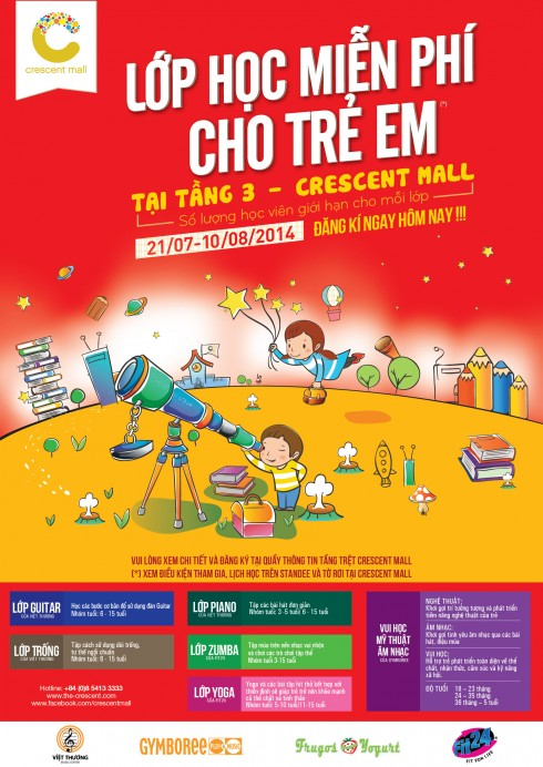 Flyer Free Classes for children 2014 - Eng