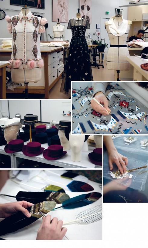 BST Metiers d'Art là tác phẩm của những nghệ nhân couture nổi tiếng nhất Paris.