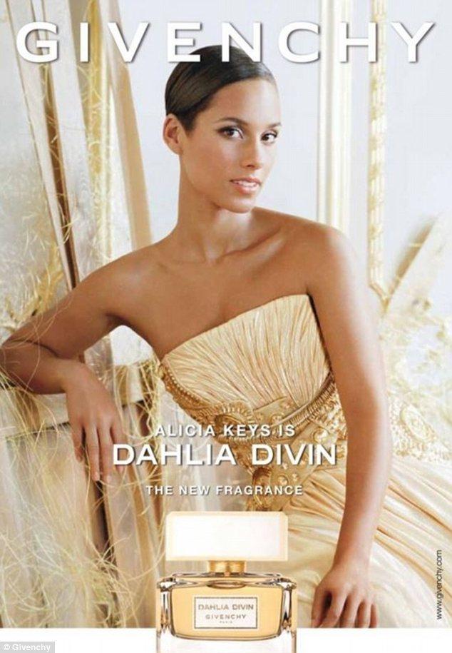 Alicia Keys đại diện cho nước hoa mới của Givenchy
