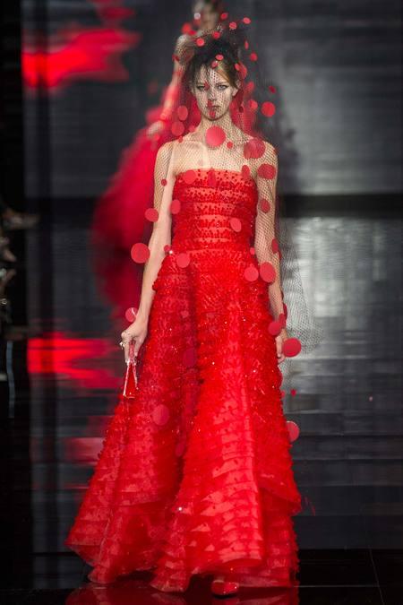 Bộ sưu tập Armani Prive Haute Couture Thu Đông 2014