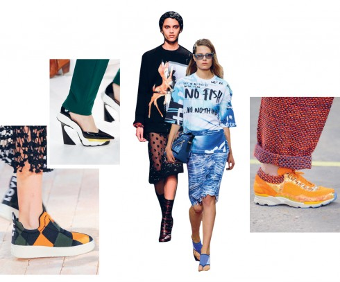 Từ trái qua: Céline, Dior, Givenchy FW 13, Kenzo, Chanel