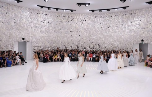 Christian Dior show, Haute Couture Fall Winter 2014, Paris Fashion Week, France - 07 Jul 2014