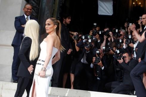 Jennifer Lopez, Donatella Versace