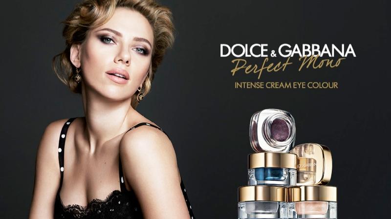 Scarlett Johansson đại diện cho BST trang điểm mùa Thu của Dolce & Gabbana