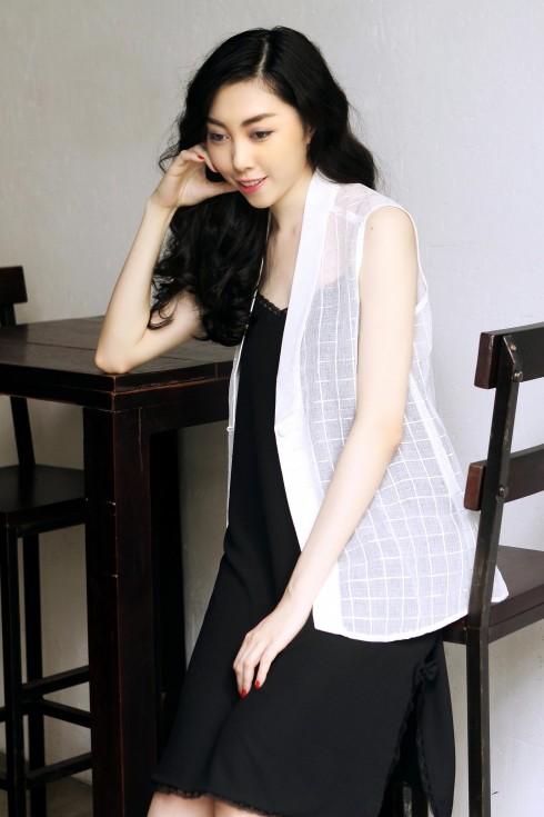Áo vest, đầm Ren