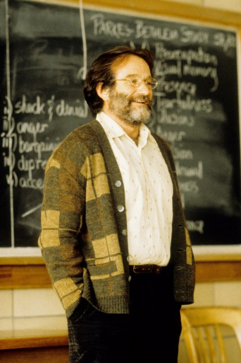 Robin William trong Good Will Hunting (1997) - trong bộ phim này, ông đã giành giải Oscar cho diễn viên phụ xuất sắc nhất.