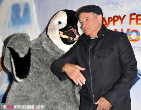 Robin Williams trong Happy Feet (2006).