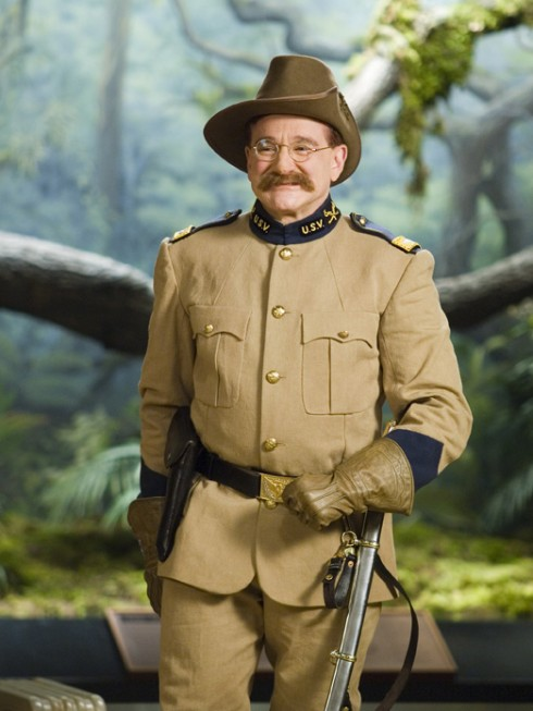 Robin Williams trong Night at the Museum (2006)