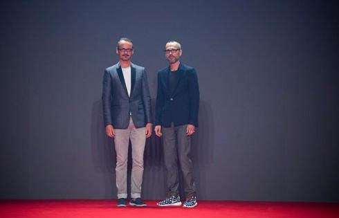 Hai nhà thiết kế thương hiệu Viktor and Rolf