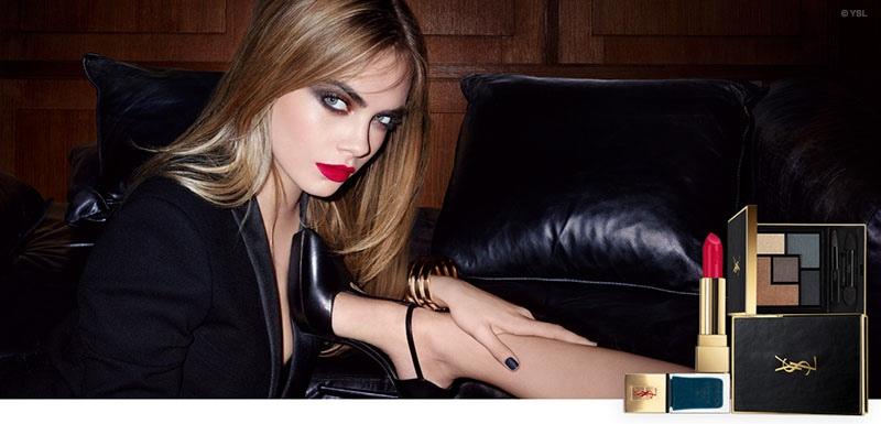 Cara Delevingne đẹp hút hồn trong quảng cáo mỹ phẩm mùa Thu của YSL