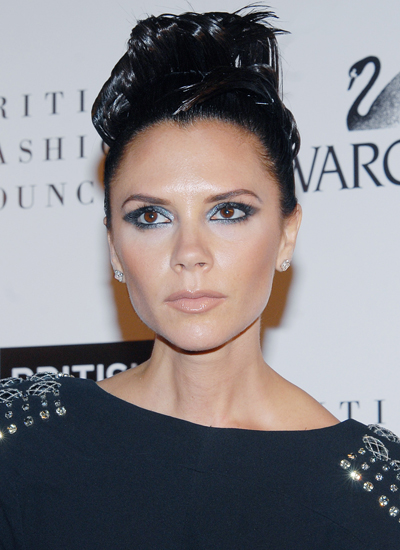 Năm 2009: Victoria tại British Fashion Awards.