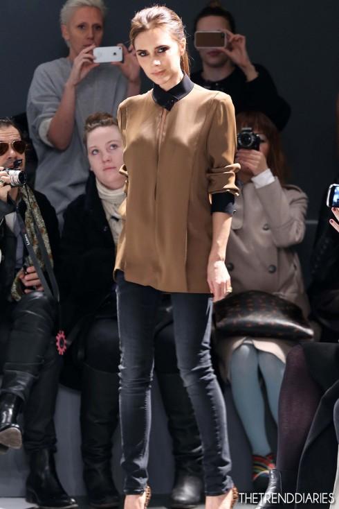 Năm 2013: Victoria giới thiệu bộ sưu tập mùa Thu tại Tuần lễ thời trang New York.