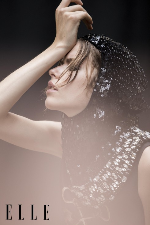 Đầm, Mũ chùm đầu gắn sequin Dolce & Gabbana