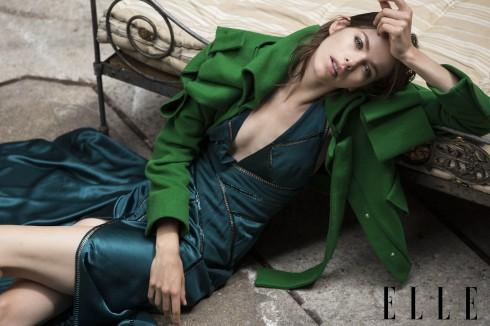 Đầm Versace, Áo khoác len Jean-Charles De Castelbajac